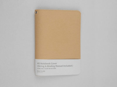 A5 Notebook Cover (String & Binding Manual Included )