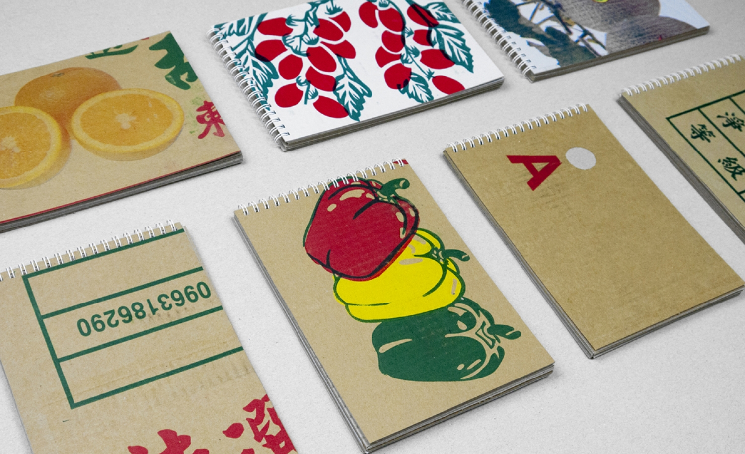 Loose-leaf A5 Recycled Corrugated Paper Notebook