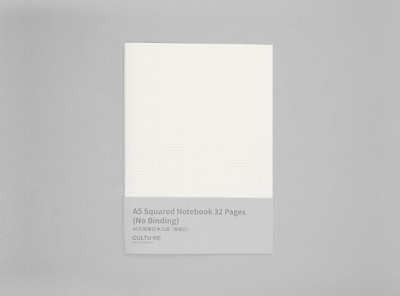 A5 Squared Notebook 32 Pages (No Binding)